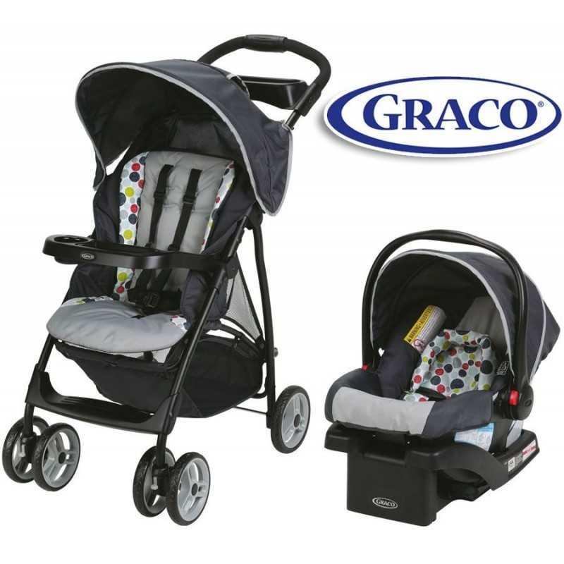 Carrito de bebé + Baby Seat - Graco - ETCHER LiteRider LX Travel System 1983010
