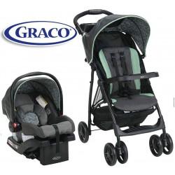 Carrito de bebé + Baby Seat - Graco - AMES LiteRider LX Travel System 2048705