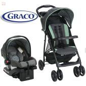 Carrito de bebé + Baby Seat - Graco - ETCHER LiteRider LX Travel System 1983010