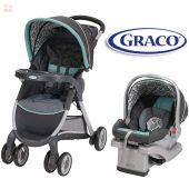 Carrito de bebé + Baby Seat - Graco - AFFINIA FastAction Fold Travel System 1935091