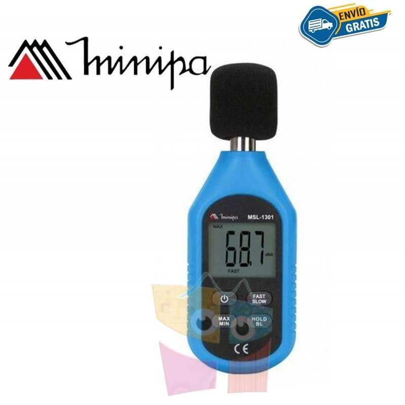 Decibelimetro Digital - Minipa - MSL-1325