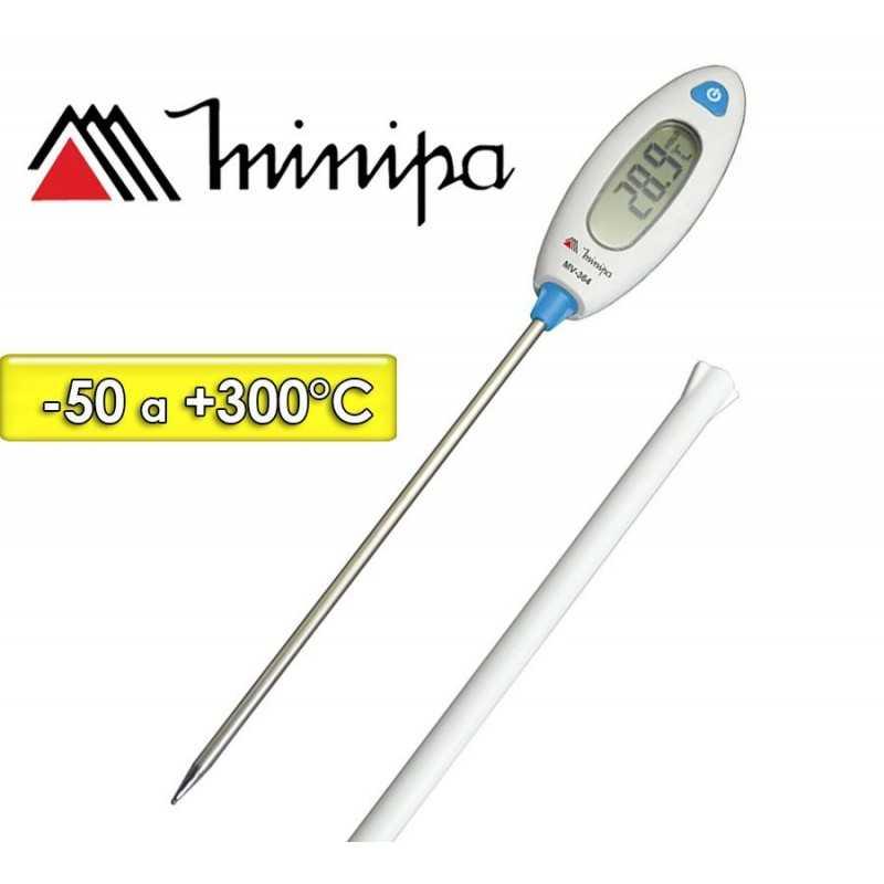Termómetro Pincha Carne - Minipa - MV-364 - Escala -50 a +300°C