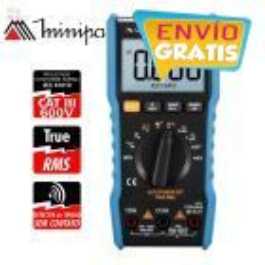 Multimetro Digital - Minipa - ET-1507B - True RMS / VDC 1000V / VAC 750V / ADC 10A / AAC 10A