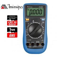 Multimetro Digital - Minipa - ET-2042E - True RMS AC / VDC 1000V / VAC 750V / ADC 20A / AAC 20A