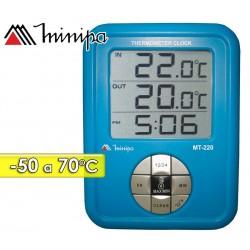 Termómetro Digital - Minipa - MT-220 - Escala -50 a +70°C