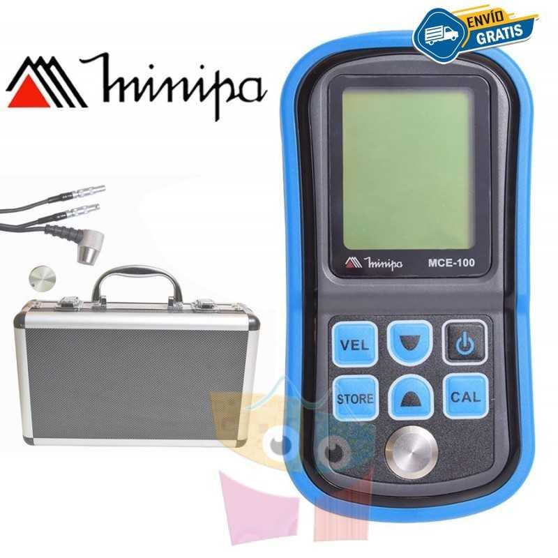 Medidor de Espesor Ultrasonico - Minipa - MCE-100