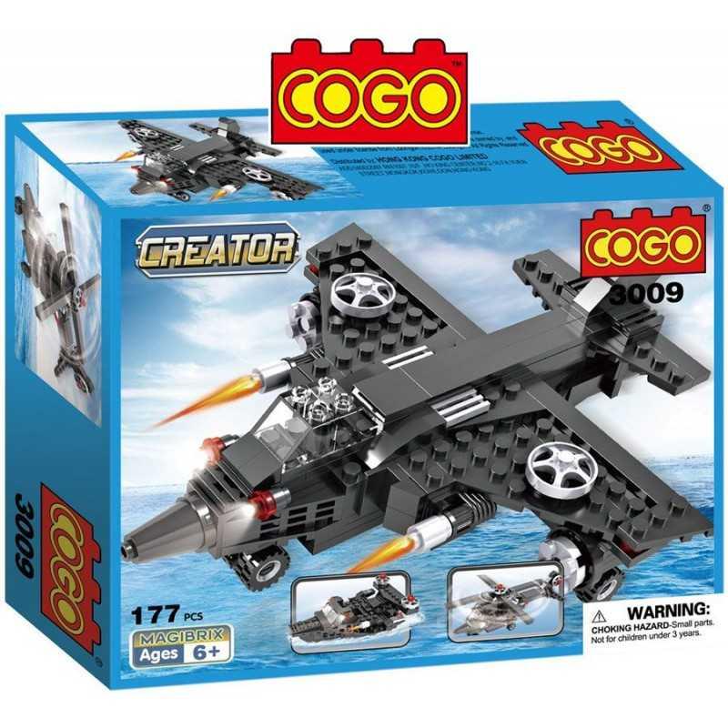 Auto de Formula 1 Racers  - Juego de Construcción - Cogo Blocks