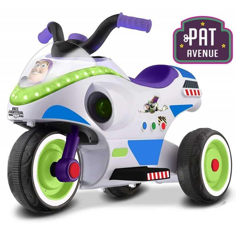 Moto a Bateria Buzz Lightyear Toy Story - Pat Avenue