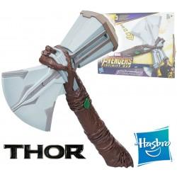 Marvel Infinity War - Stormbreaker Hacha electrónica de Thor - Hasbro