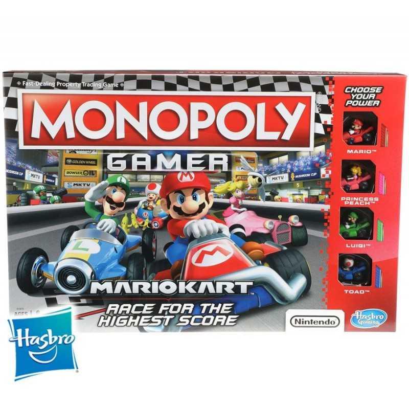 Monopoly Gamer Mario Kart - Hasbro