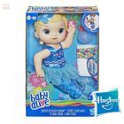 Muñeca Baby Alive Mi linda Sirena - Hasbro - Rubia