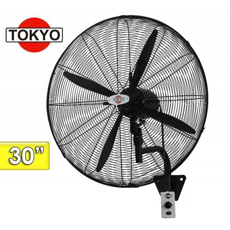 Ventilador Industrial de Pared - 30 Pulgadas - Tokyo - VETOKPAI30R-AR