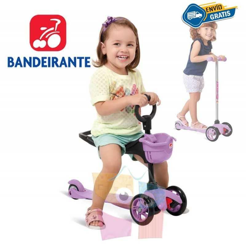 Monopatin Lila - Bandeirante - Skatenet 349