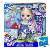 Muñeca Baby Alive Once Upon a Baby: Forest Tales - Emma Encantada - Hasbro - Rubia