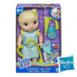 Muñeca Baby Alive Tiernos Cuidados - Hasbro - Rubia
