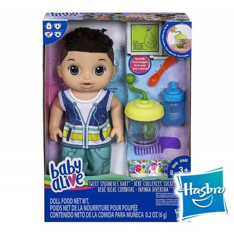 Muñeco Baby Alive Ricas Comiditas - Hasbro - Moreno