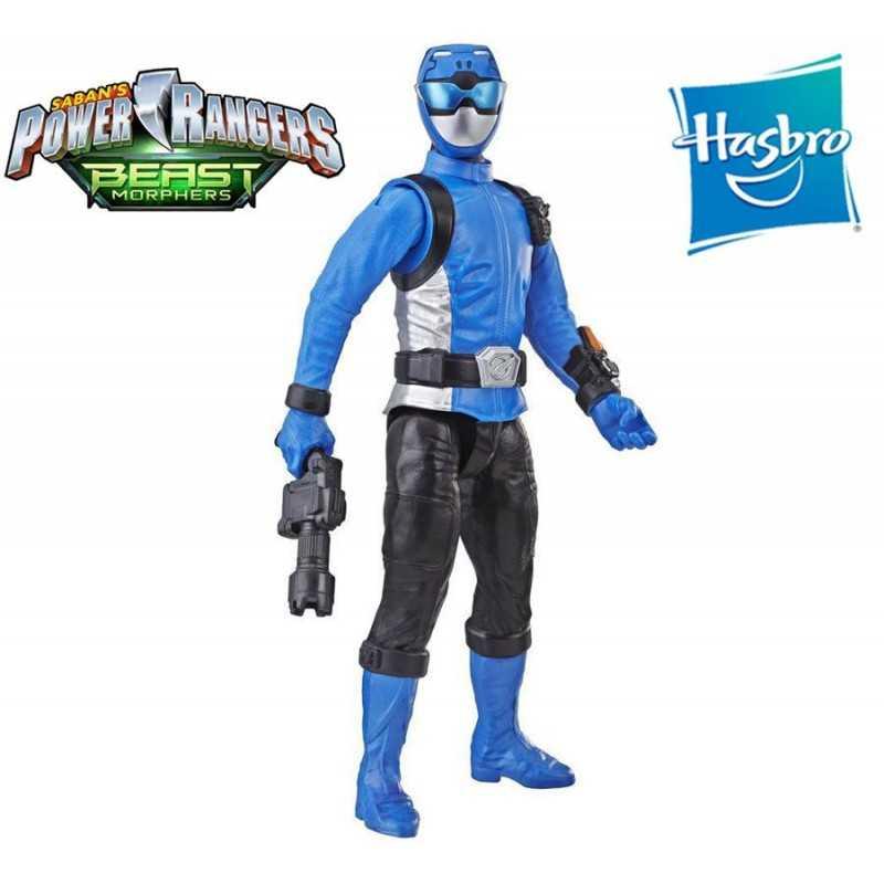 Muñeco Blue Ranger 30 cms - Power Rangers Beast Morphers - Hasbro