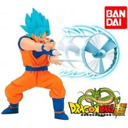 Figura Kamehameha Dragon Ball Super Goku Super Saiyajin Azul - Bandai - 35873