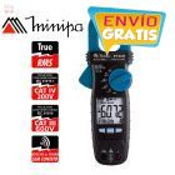 Pinza Amperimetrica - Minipa - ET-3333 - True RMS AC / VDC 600V / VAC 600V / AAC 600A / ADC 60A