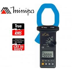 Pinza Amperimetrica - Minipa - ET-3960 - True RMS AC / VDC 1000V / VAC 750V / AAC 2000A / ADC 2000A