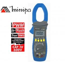 Pinza Amperimetrica - Minipa - ET-3880 - True RMS AC / VDC 600V / VAC 600V / AAC 1000A / ADC 1000A