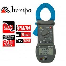 Pinza Wattímetro - Minipa - ET-4080 - True RMS  AC / Pot. 600 kWh