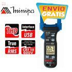 Pinza Wattímetro - Minipa - ET-4091 - True RMS  AC / Pot. 600 kWh