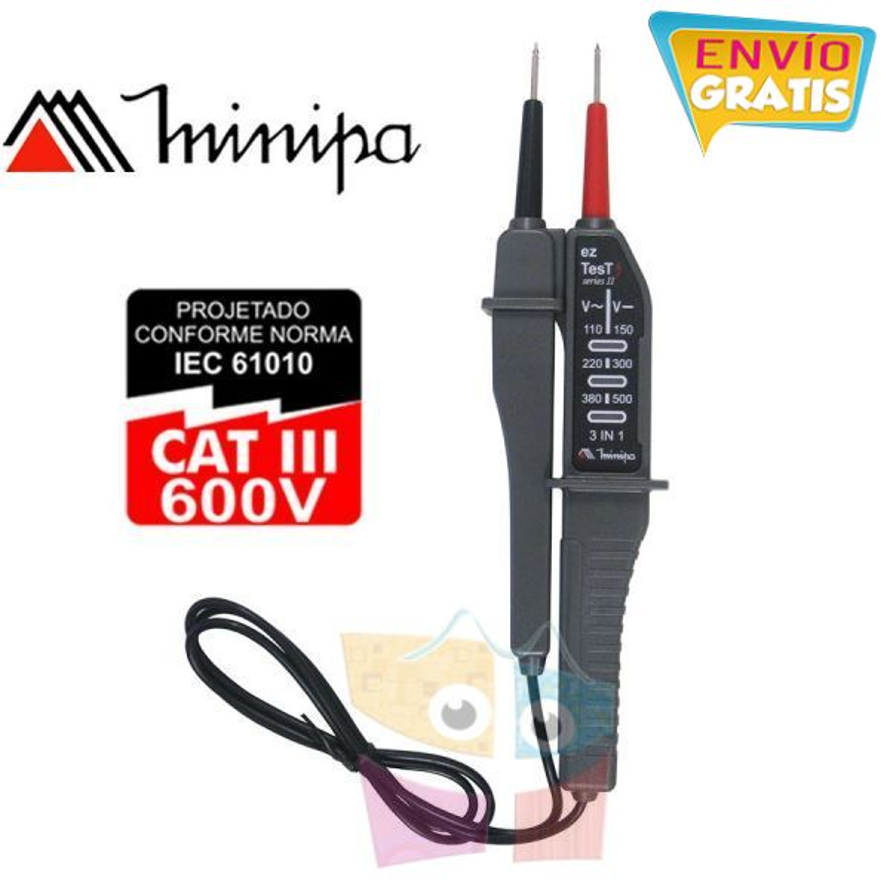 Detector  de Tension - Minipa - ezAlert II