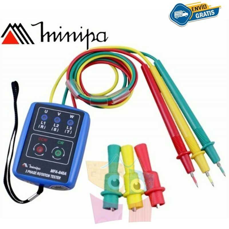 Fasimetro - Minipa - MFA-840A - 600V 400Hz