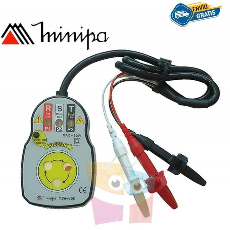 Fasimetro - Minipa - MFA-850 - 600V / 60Hz