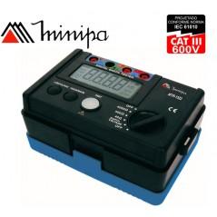 Terrometro Telurometro Digital - Minipa - MTR-1522 - 4000Ω
