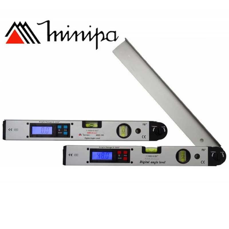 Medidor de Angulos digital - Minipa - MAD-185 - 0 A 225º