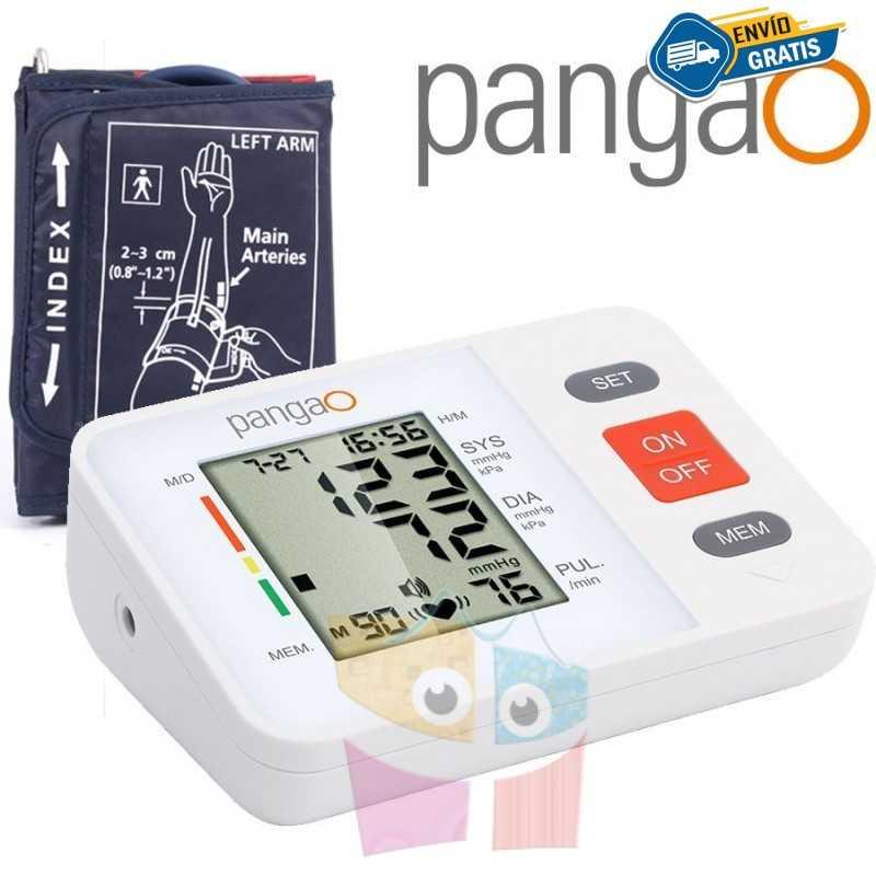 Tensiómetro digital de brazo con inflado automatico - Pangao - PG-800B36