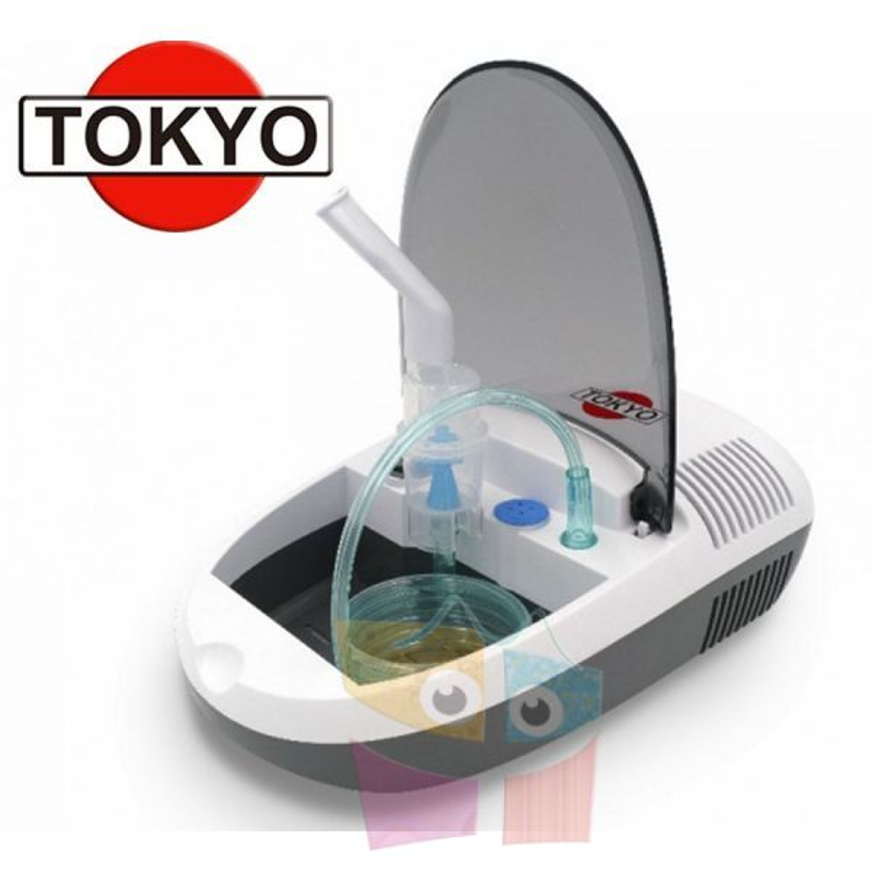Nebulizador a Piston Compresor - Tokyo - Fresh Air T2418