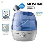 Humidificador Ultrasonico de Aire - Mondial - AIR 2