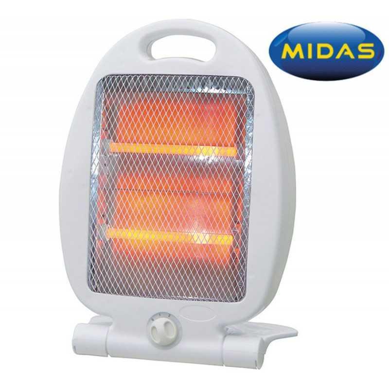 Estufa de Quarzo - Midas - 800 W - MD-ES809