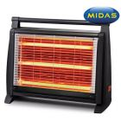 Estufa de Quarzo - Midas - 1.500 W - MD-ES2832K