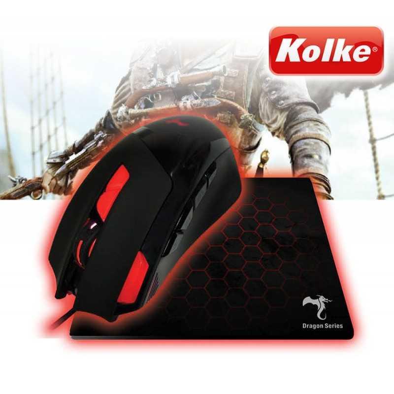 Mouse Inalambrico Vertical - Kolke - KEM-248