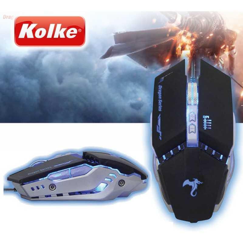 Kit Gamer - Mouse y Mouse Pad Gamer - Kolke - SCORPION KGK-251