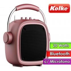Parlante Portatil - Kolke - BOOGIE KPM-258 Rosa