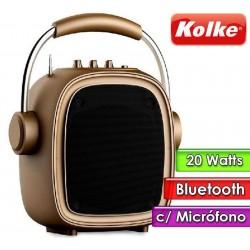 Parlante Portatil - Kolke - BOOGIE KPM-258 Dorado