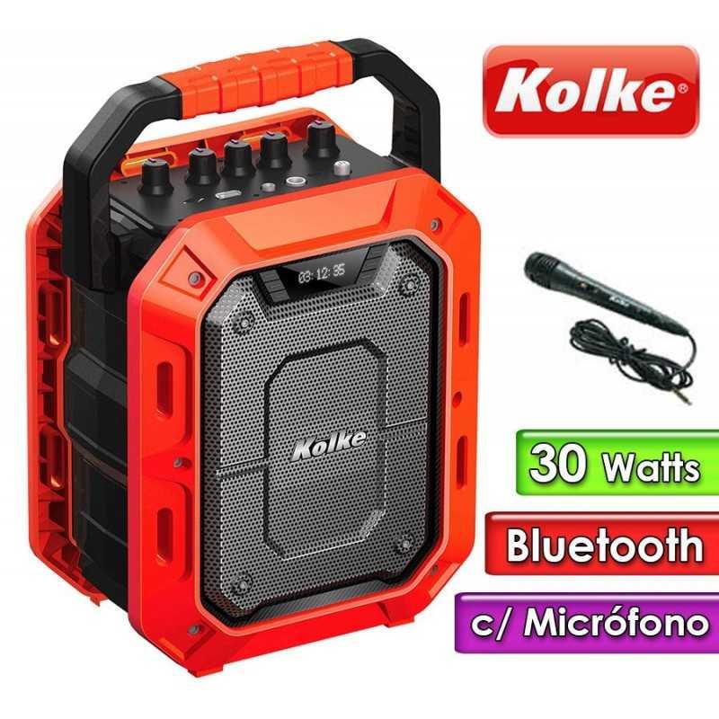 Parlante Portatil - Kolke - IMPACT KPM-259 Amarillo