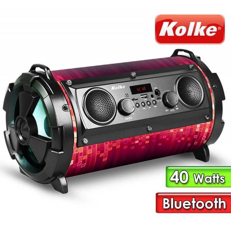 Parlante Portatil - Kolke - BOMB KPM-222 Azul