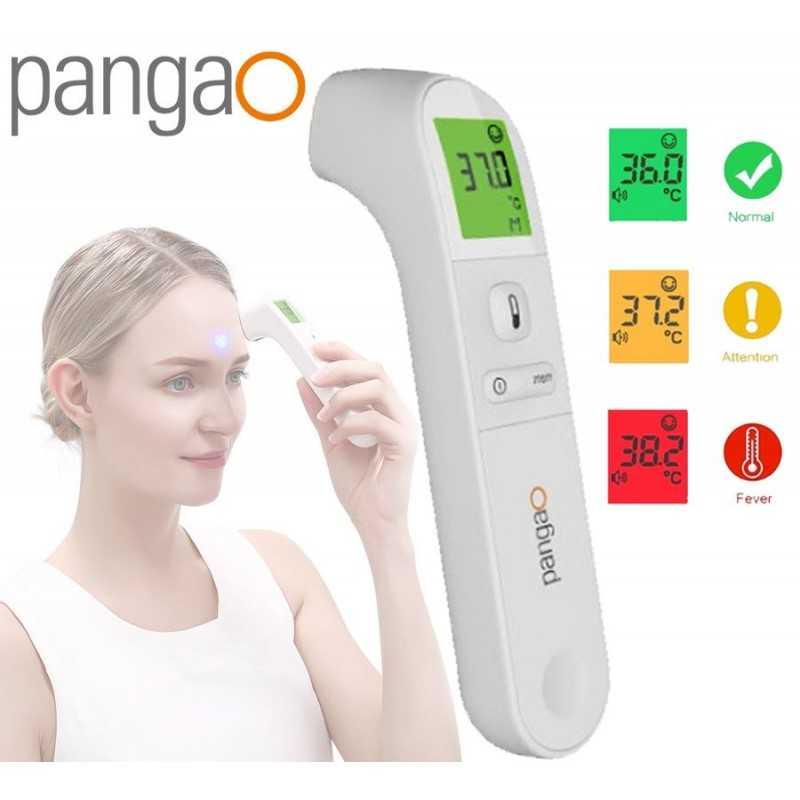 Termómetro Corporl Infrarrojo - Pangao - Frente y Oido - PG-IRT1603