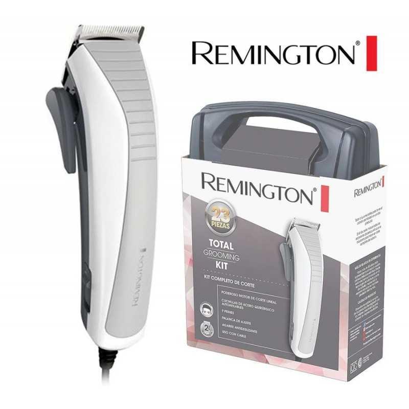 Kit Corta Pelo de 23 Piezas de acero quirurgico - Remington - HC06A