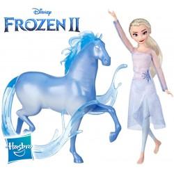 Muñeca de Elsa y figura de Nokk - Disney Frozen 2 - Hasbro