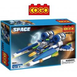 Nave Espacial - Juego de Construcción - Cogo Blocks - 304 piezas