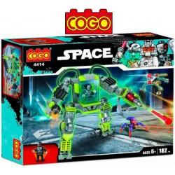 Robot Espacial - Juego de Construcción - Cogo Blocks - 182 piezas