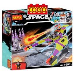 Nave Espacial - Juego de Construcción - Cogo Blocks - 207 piezas