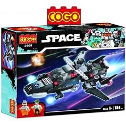 Nave Espacial - Juego de Construcción - Cogo Blocks - 184 piezas